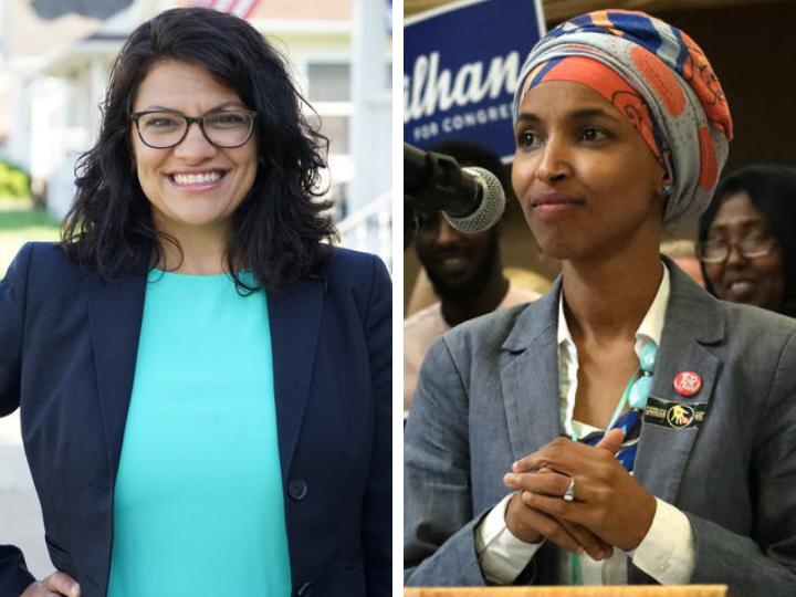 В конгресс США впервые избрали двух женщин-мусульманок – ФОТО