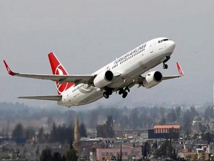 Выполнен первый рейс из нового аэропорта Стамбула в Баку - ФОТО