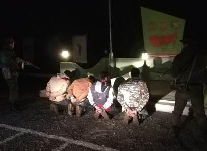 Российские пограничники задержали очередную группу нарушителей границы Армении - ФОТО