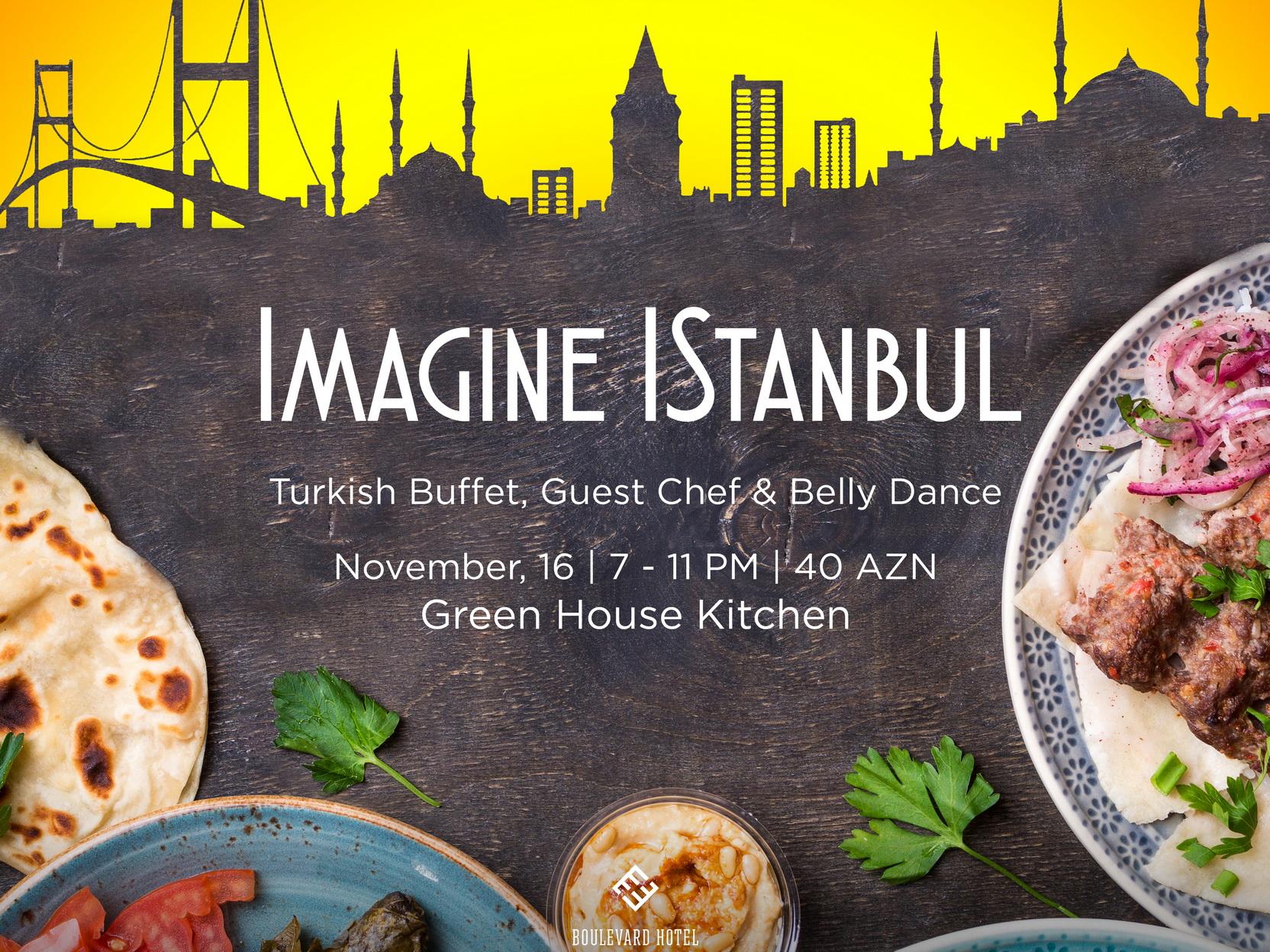 На вечер в Стамбул, не покидая Баку – ФОТО