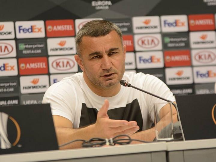Гурбан Гурбанов: «Мы хотели выиграть в обоих матчах»