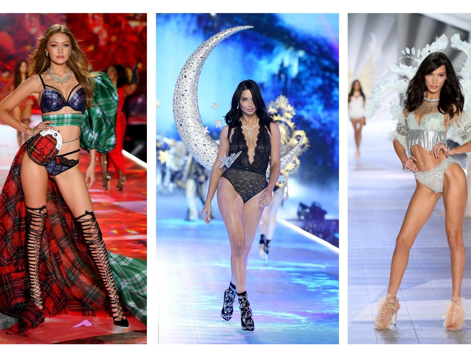 Белла и Джиджи Хадид, Адриана Лима и другие «ангелы» в невероятном шоу Victoria's Secret 2018 – ФОТО