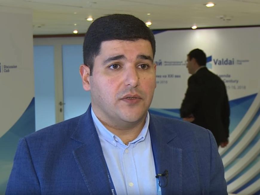 Фархад Мамедов рассказал клубу «Валдай» о перспективах МТК «Север – Юг» - ВИДЕО
