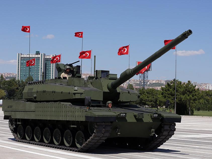 В Анкаре подписали контракт на серийное производство танков