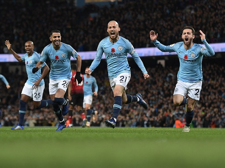 «Манчестер Сити» обыграл «Манчестер Юнайтед» в чемпионате Англии - ФОТО - ВИДЕО