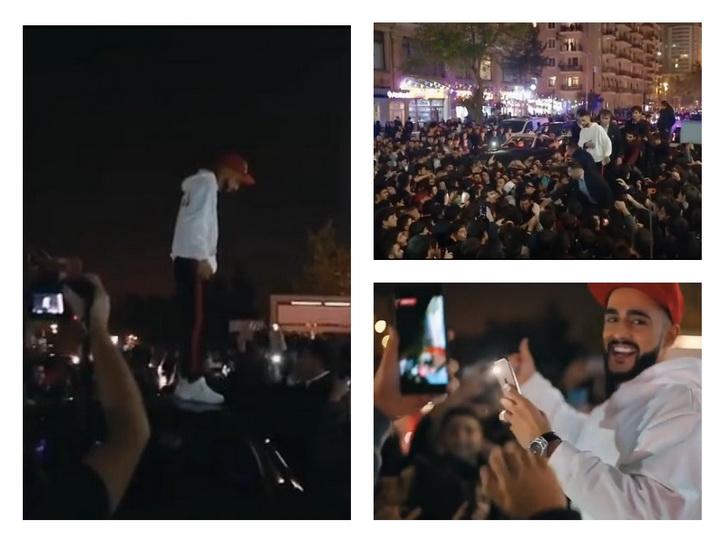 Ажиотаж фанатов и хаос в городе: Гусейн Гасанов ответил азербайджанцам - ВИДЕО