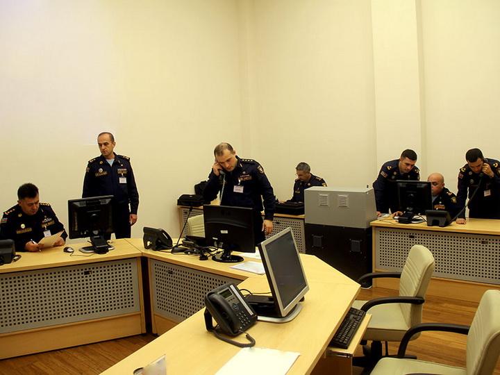 В азербайджанской армии начались командно-штабные военные игры - ВИДЕО - ФОТО