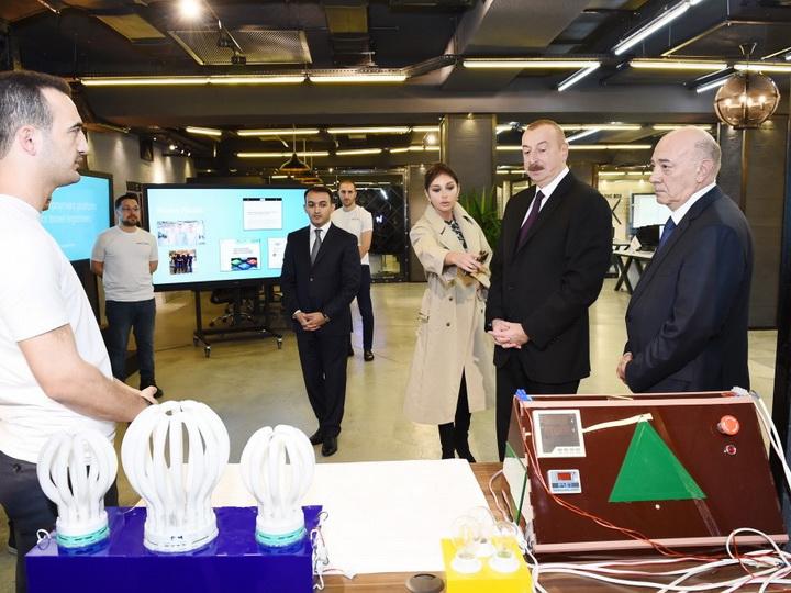 Президент Азербайджана принял участие в открытии административного здания Центра развития электронного правительства - ФОТО