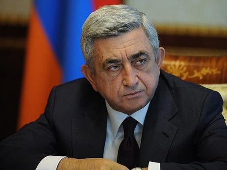 Serj Sarkisyan seçkilərdə iştirak etməyəcək