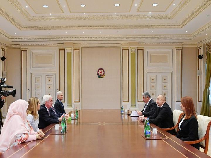Prezident İlham Əliyev Ümumdünya Antidopinq Agentliyinin prezidentini qəbul edib – YENİLƏNİB