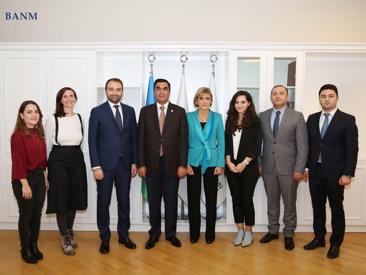 Представители Политехнического университета в Турине побывали в Бакинской высшей школе нефти - ФОТО