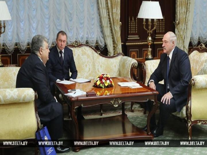 Lukaşenko: Minsk KTMT baş katibi vəzifəsinə üç namizəd təqdim etməyə hazırdır