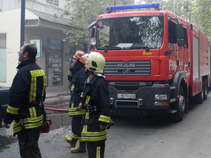 Пожар в школе для вынужденных переселенцев из Физули потушен, никто не пострадал - ОБНОВЛЕНО