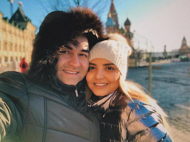 Счастливы вместе: московские каникулы Илькина Гасани с супругой Айсель – ФОТО