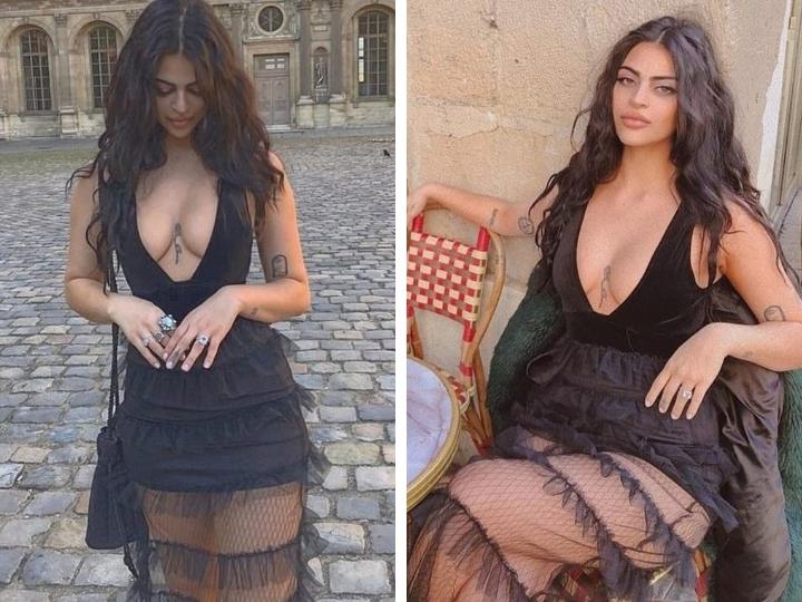Австралийскую модель не пустили в Лувр в откровенном платье – ФОТО