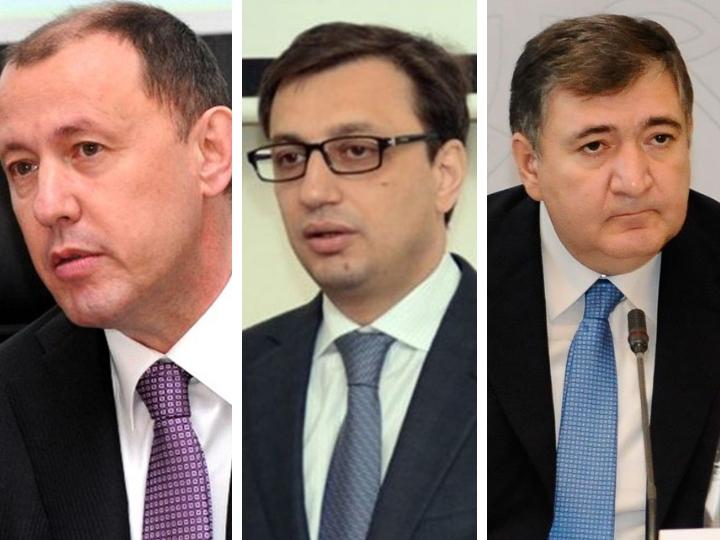 В парламенте призвали продать имущество Джахангира Гаджиева, Руфата Асланлы и Фазиля Мамедова и передать деньги семьям шехидов