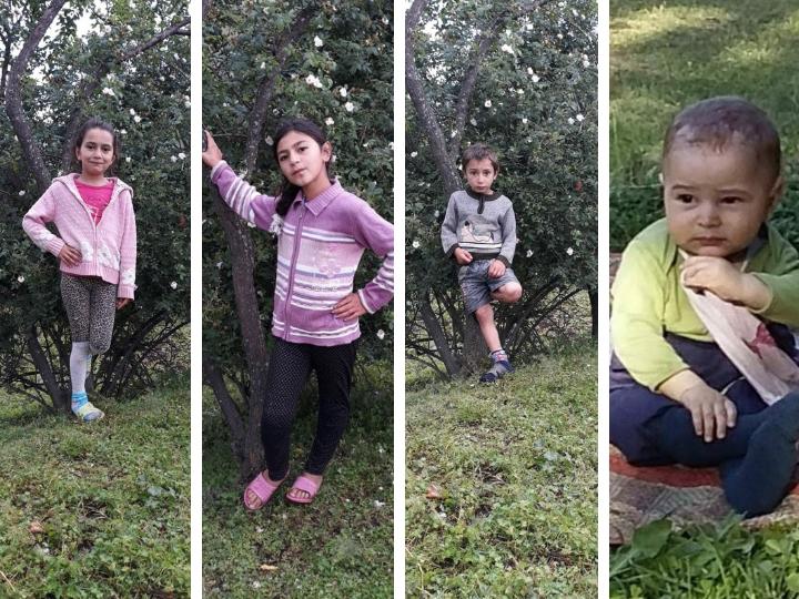 Душераздирающе: Фото четырех детей, погибших при страшном пожаре в Дашкесане – ФОТО – ОБНОВЛЕНО
