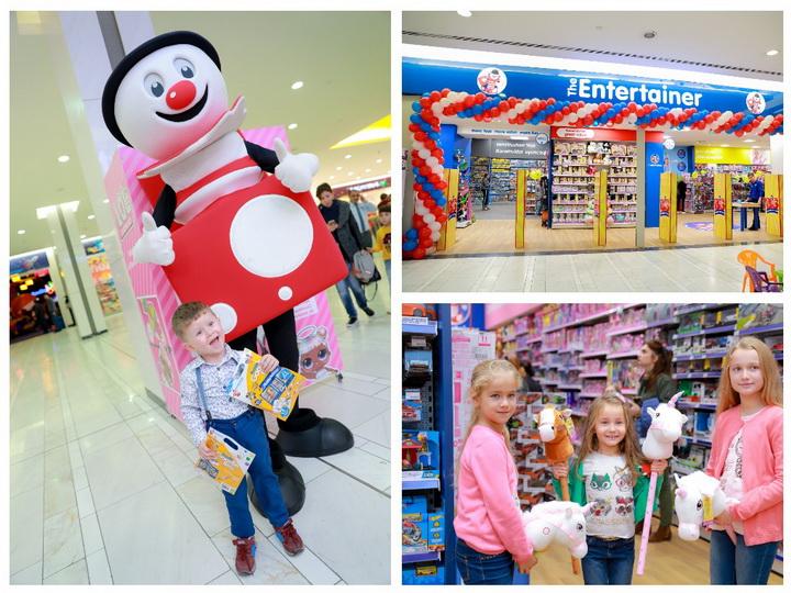 Волшебный мир детства и игрушек: в 28 Mall открылся третий магазин The Entertainer – ФОТО