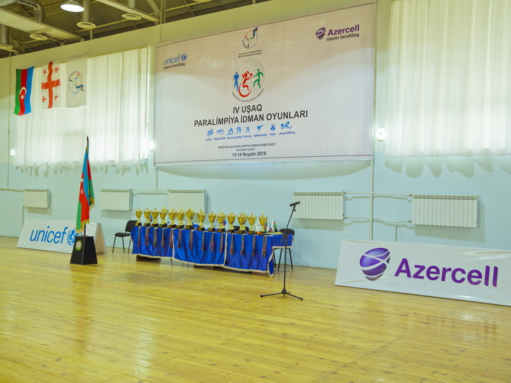 При поддержке Azercell прошли IV Детские паралимпийские игры – ФОТО