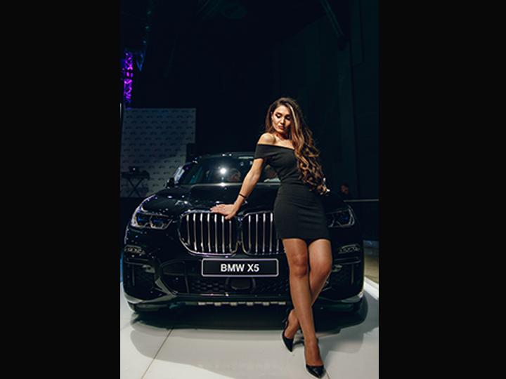 В «Elektra hall» состоялась презентация совершенно нового автомобиля BMW X5 - ФОТО