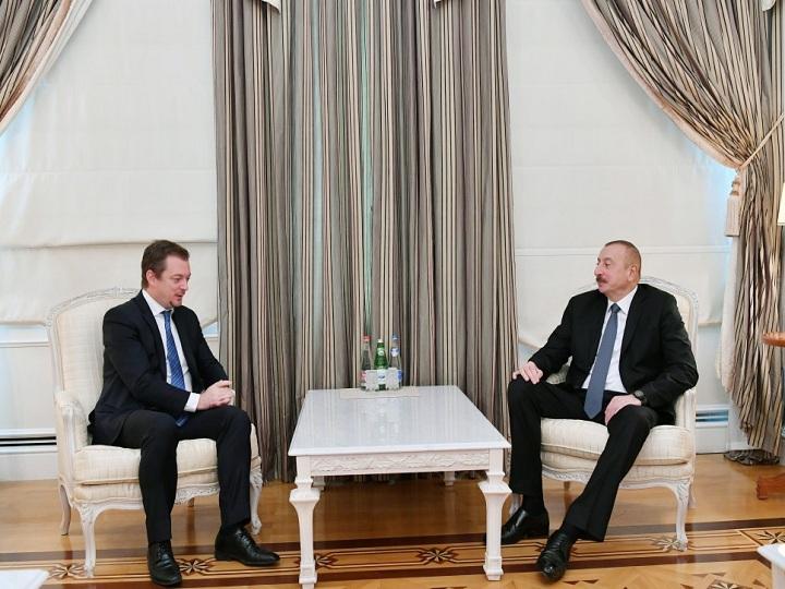 İlham Əliyev Beynəlxalq Paralimpiya Federasiyasının prezidentini qəbul edib – YENİLƏNİB