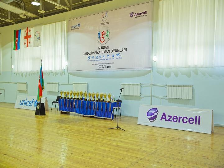 Azercell-in dəstəyi ilə IV Uşaq Paralimpiya oyunları keçirilib – FOTO