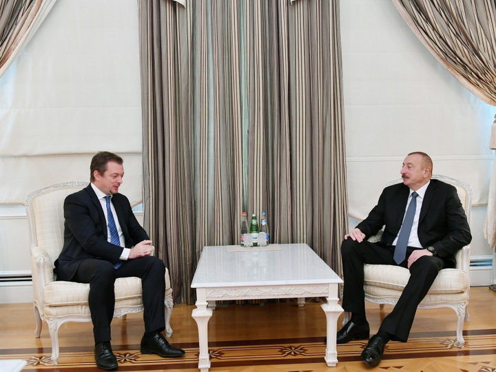 Президент Азербайджана Ильхам Алиев принял главу Международной паралимпийской федерации