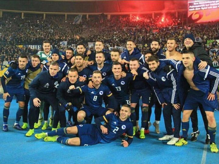 Просинечки повысил в классе сборную Боснии
