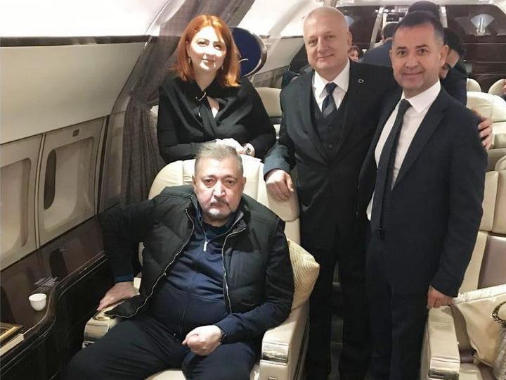Бывший министр налогов Фазиль Мамедов после тяжелой болезни - ФОТО