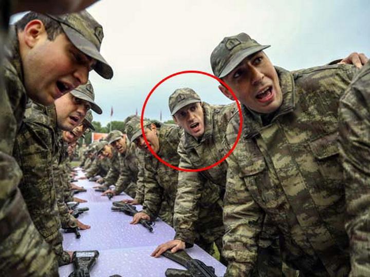 Рамиль Гулиев принял присягу в турецкой армии – ФОТО