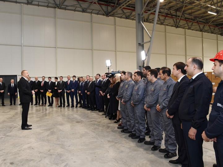 Президент Ильхам Алиев: Партнерство государства и частного сектора в Азербайджане организовано на самом высоком уровне - ФОТО