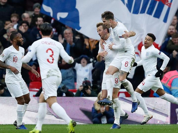 Сборная Англии обыграла Хорватию и вышла в плей-офф Лиги наций - ВИДЕО
