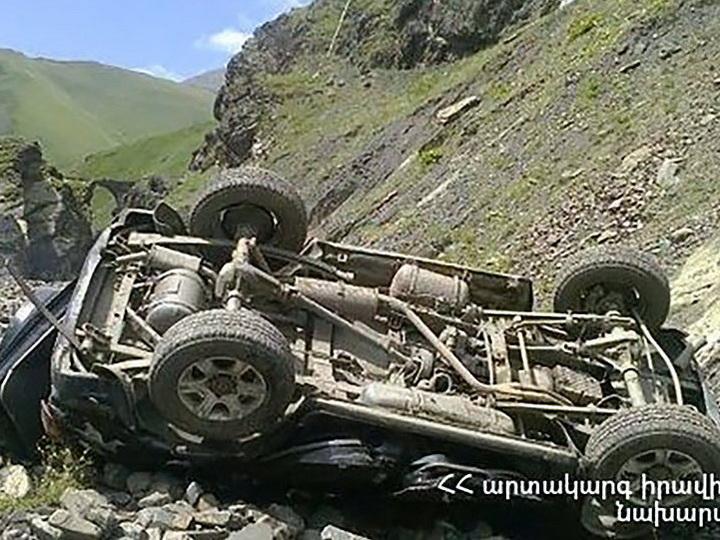 ДТП в Армении с участием военнослужащего