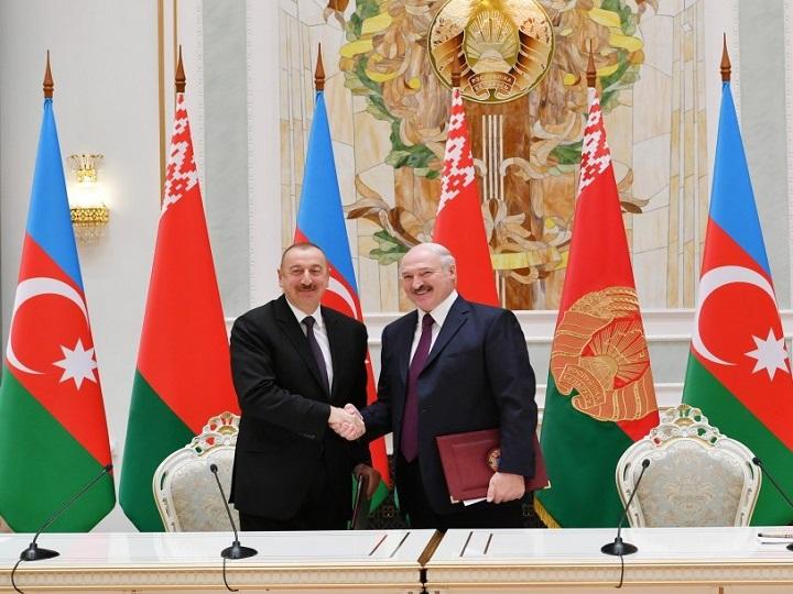 Azərbaycan-Belarus sənədləri imzalanıb– FOTO – YENİLƏNİB