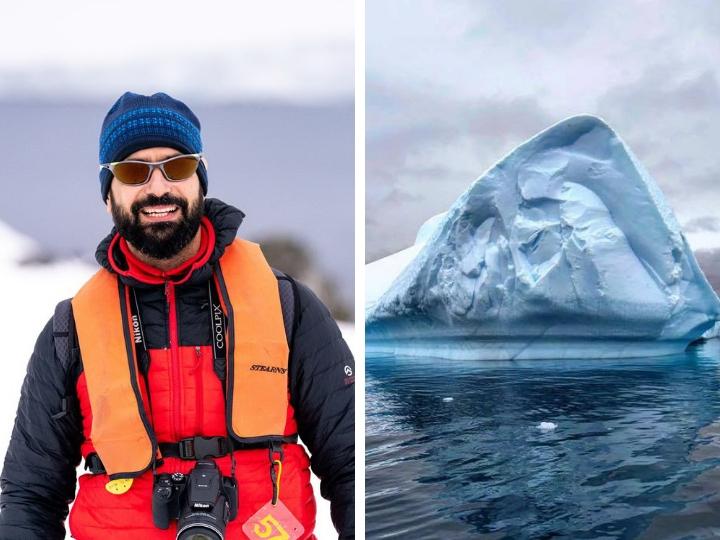 Фарид Новрузи о невероятном путешествии в Антарктиду – ФОТО – ВИДЕО
