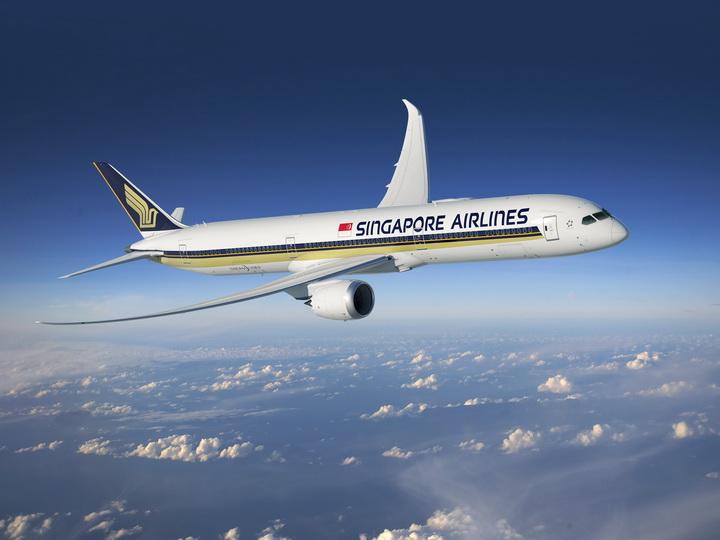 Самолет Singapore Airlines вернулся в Сингапур из-за падения давления