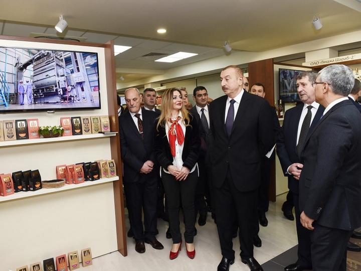 Президент Ильхам Алиев ознакомился с Азербайджанским торговым домом в Минске- ФОТО