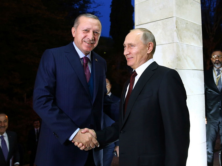 Эрдоган и Путин примут участие в церемонии завершения строительства морского участка «Турецкого потока»