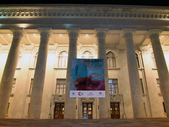 В Баку проходит выставкаизвестного португальского художника – ФОТО