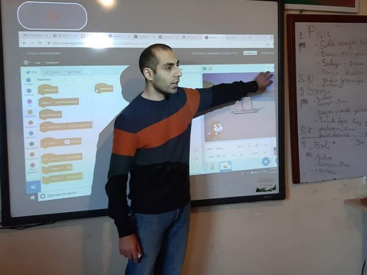 В Гяндже в рамках проекта «Цифровые навыки» прошел тренинг по повышению квалификации учителей – ФОТО