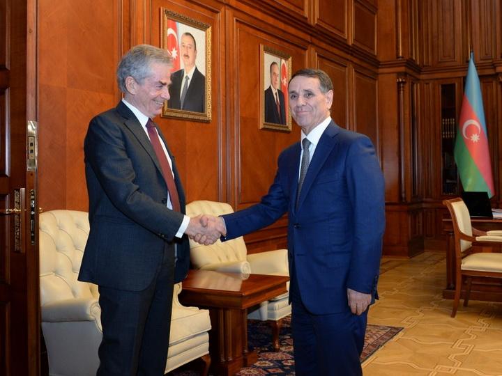 Новруз Мамедов встретился с первым председателем Минской конференции СБСЕ - ФОТО