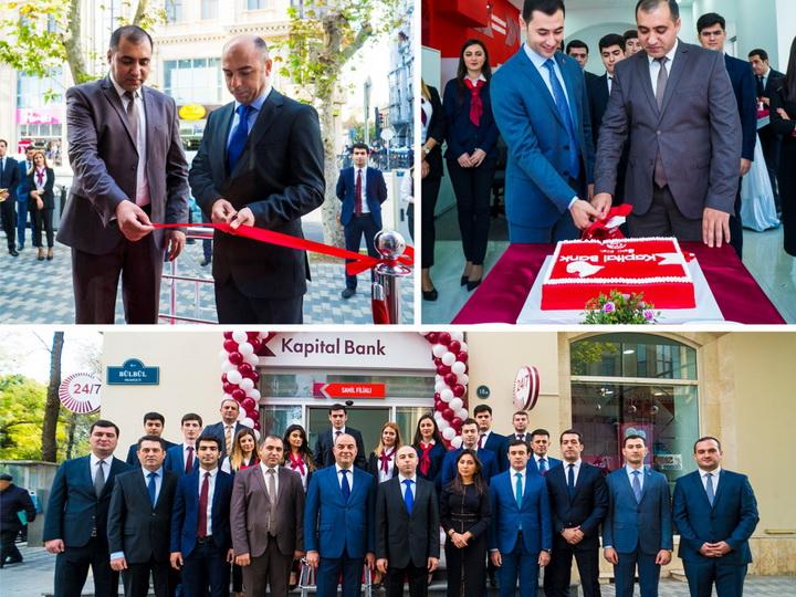 Kapital Bank открыл филиал «Сахиль», работающий в режиме 24/7