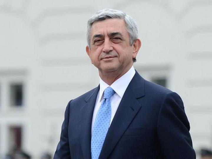 Серж Саргсян обратился за пенсией