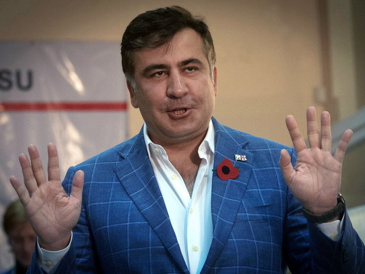 Саакашвили попросил Зеленского вернуть ему украинское гражданство