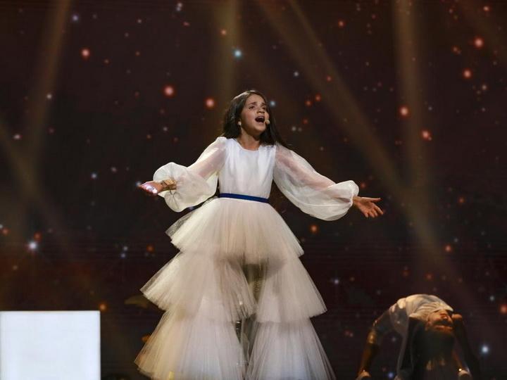 Первая репетиция Фидан Гусейновой на «Детском Евровидении 2018» - ФОТО – ВИДЕО
