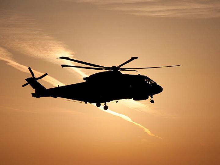 В Парагвае разбился военный вертолет