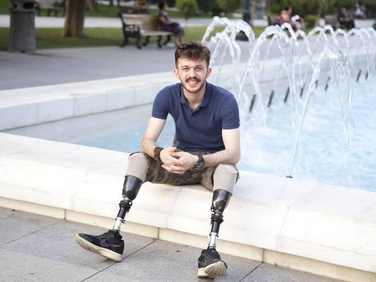 Имран Лалаев: «Все мои комплексы остались под поездом вместе с моими ногами» - ФОТО