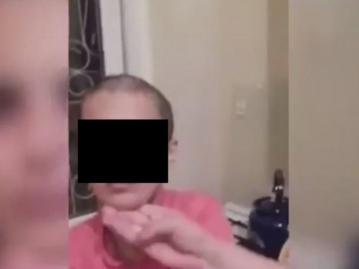 МВД Азербайджана начало разбирательство по ролику о женщине, которую обрили налысо - ВИДЕО - ФОТО – ОБНОВЛЕНО