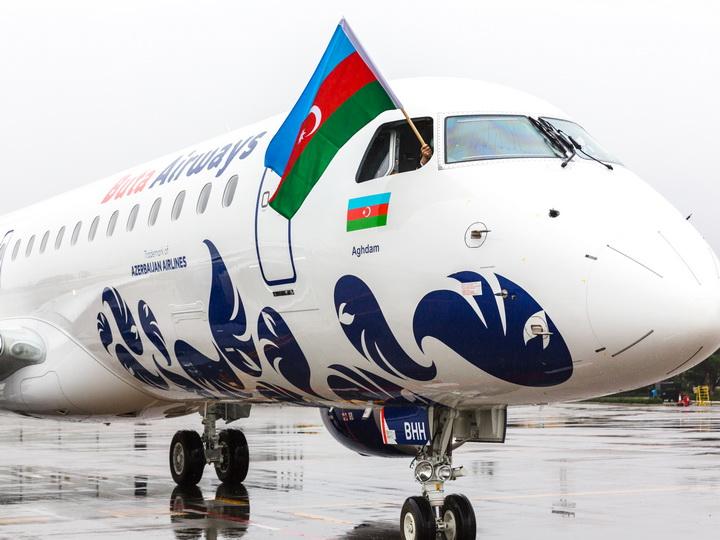 Парк авиакомпании Buta Airways пополнился еще одним самолетом Embraer E-190 - ФОТО