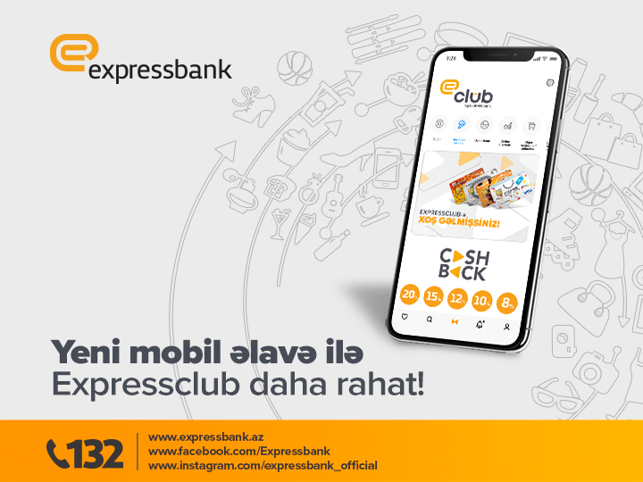 Expressclub – bütün aksiya, endirim və cashback-lər bir mobil əlavədə